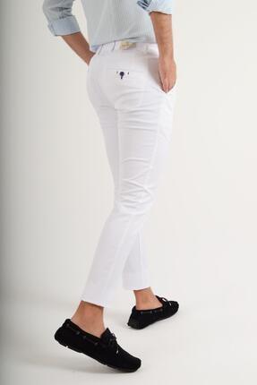 Luppo Club Günlük Kumaş Beyaz Erkek Pantolon Salacak 2