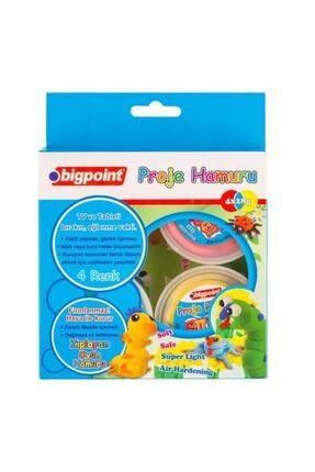Bigpoint Proje Hamuru 4 Renk x 28 gr 0