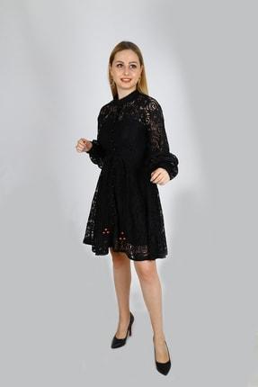 Ahsenserra Gracia Güpür Elbise 2