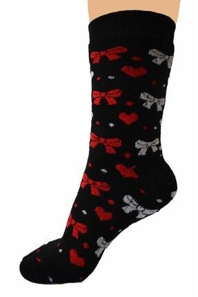 AKKAYA ÇORAP 6 Adet Kalın Çorap, Kadınlar Için Havlu Çorap, Kışlık Çorap 2
