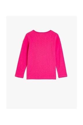Koton Kız Çocuk Pembe T-Shirt 1