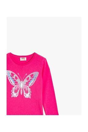 Koton Kız Çocuk Pembe T-Shirt 2