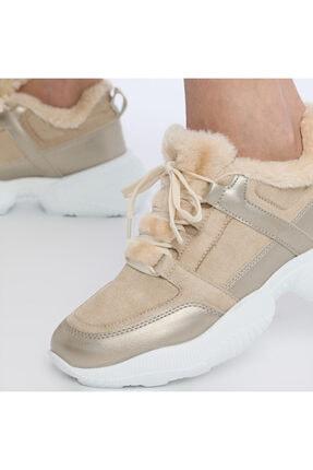 Butigo Kadın Bej Fashion Sneaker 20k-607 2