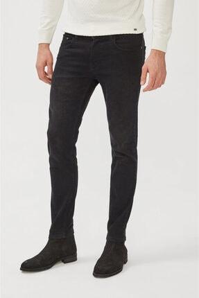 Avva Erkek Siyah Skinny Fit Jean Pantolon E003513 0