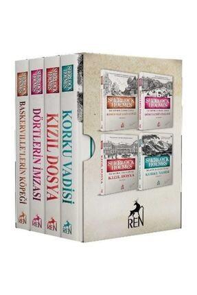 Ren Yayınları Sherlock Holmes Roman Seti 4 Kitap Takım Sir Arthur Conan Doyle 0