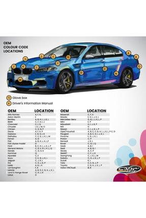 Color N Drive Volkswagen İçin Rötüş Boyası Lc9a 0q Pure White Plus 3