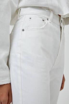 Pull & Bear Kadın Mom Fit Basic Jean 2