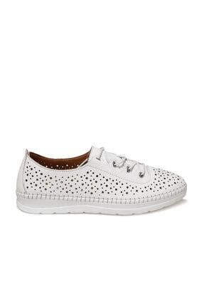 Polaris 103208.Z1FX Beyaz Kadın Klasik Ayakkabı 101000292 1