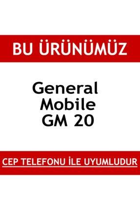 BCA General Mobile Gm 20 Plex Standlı Yüzüklü Mat Kılıf Kapak 2