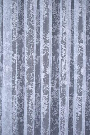 PERDECITY Bulut Desen, Örme Tül Perde, 300x260cm, 1/2 Seyrek Pile 4