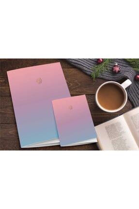 AKILLICA 2'li Defter Set Pastel Notebook Gradient Serisi 04 0