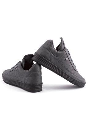 L.A Polo 07 Füme Siyah Dikişli Taban Unisex Spor Ayakkabı 3