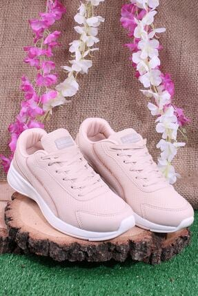 Kinetix Günlük Sneaker Yürüyüş Spor Ayakkabı Pudra 1