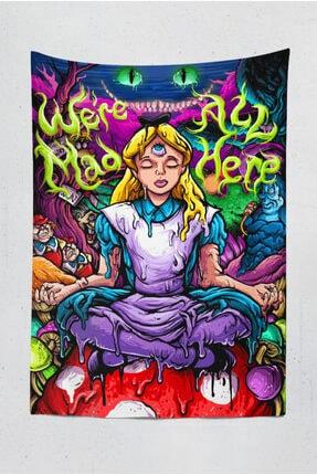 Kozmik Tapestry Psychedelic Alice In Wonderland 1