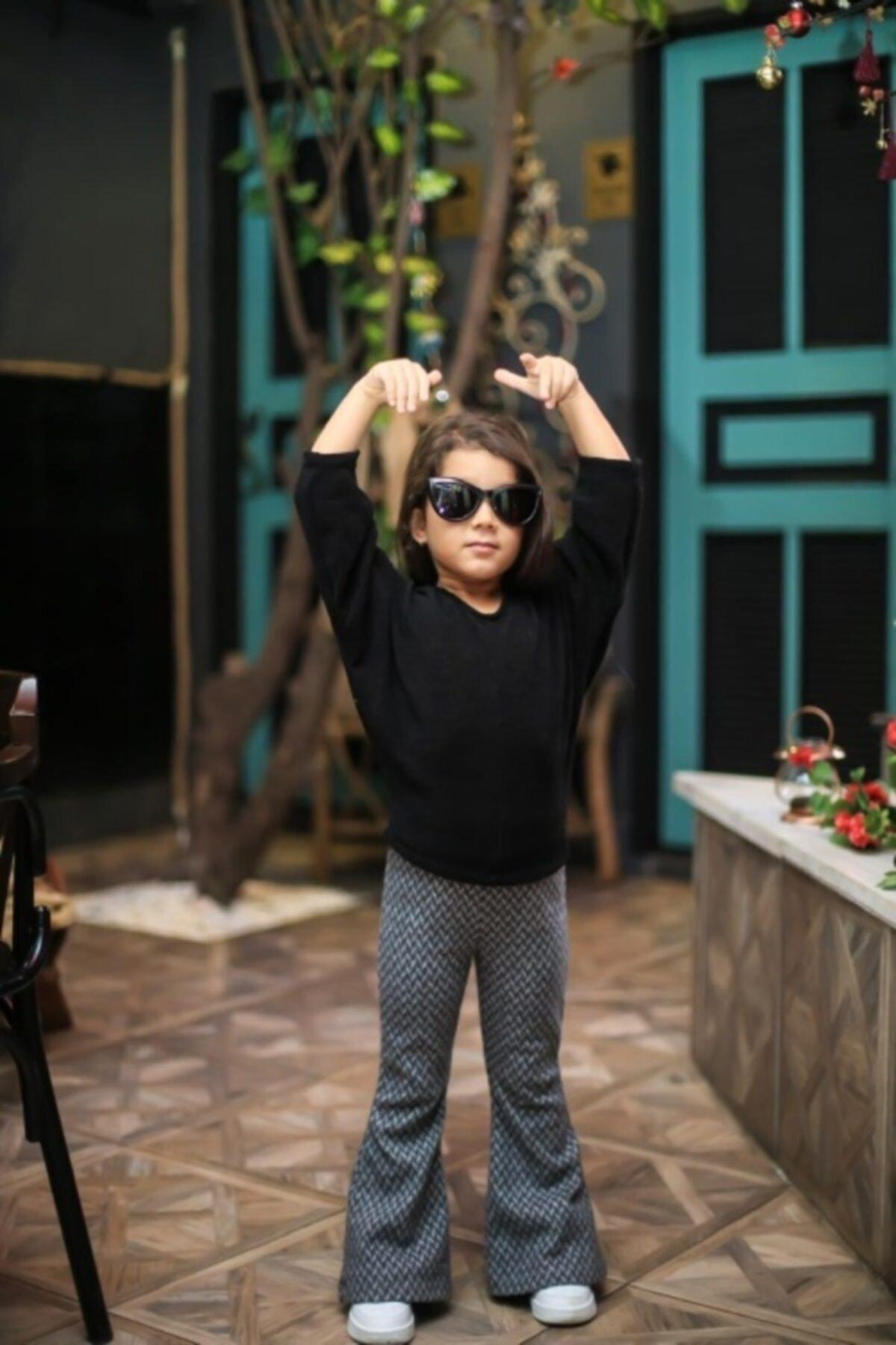 STAR ÇOCUK Çocuk Gri Ispanyol Pantolon