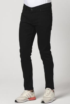 Giymoda Erkek Slim Fit Kot Jean Pantolon Siyah 0