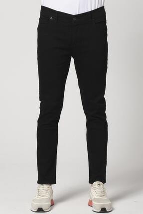 Giymoda Erkek Slim Fit Kot Jean Pantolon Siyah 1