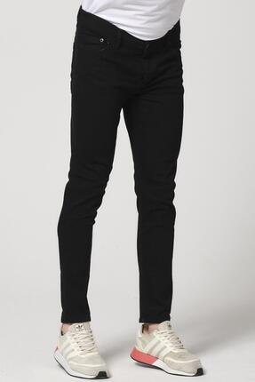 Giymoda Erkek Slim Fit Kot Jean Pantolon Siyah 4
