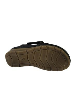 CARLA VERDE Kadın Siyah Sandalet 4