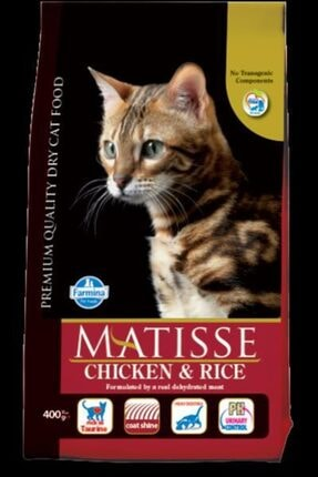 Matisse Tavuk Ve Pirinçli Yetişkin Kedi Maması 10 kg 0