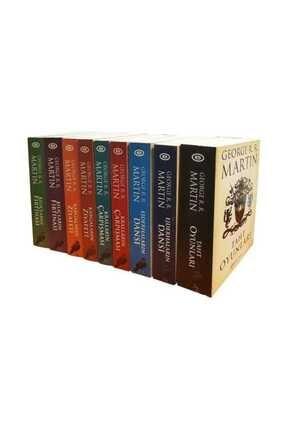 Epsilon Yayınları A Game Of Thrones / Taht Oyunları Seti (9 Kitap) (Kutulu) - George R. R. Martin 0
