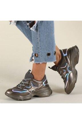 Hammer Jack Platin Kadın Ayakkabı 381 478zn-z 0