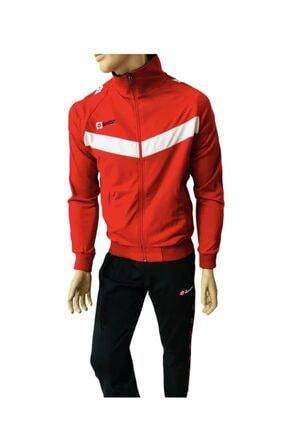 تصویر از گرمکن ورزشی مردانه قرمز