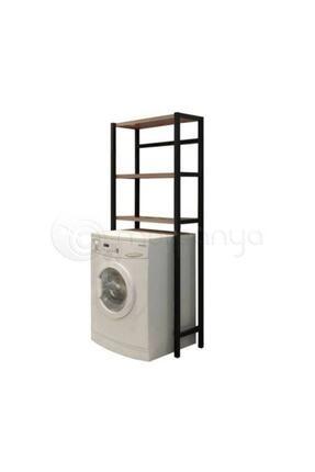 Neta Home Kahverengi Çamaşır Makinesi Üstü Düzenleyici Banyo Dolabı Makina Üstü Dolap Raf Netatrade1925 3