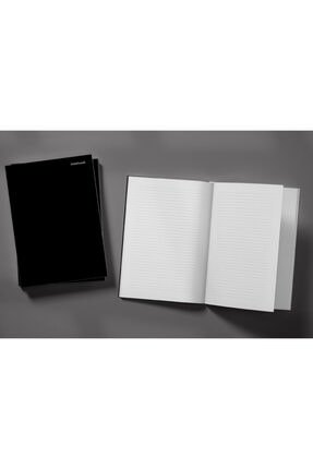 Pelikan Yayınları Black Doberman Dog On A Black Background Weekly Planner & Notebook 2