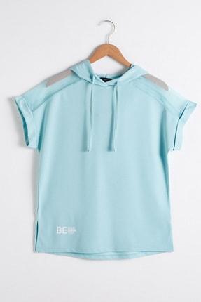 LC Waikiki Kadın Nane Yeşili  T-Shirt 0