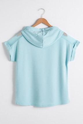 LC Waikiki Kadın Nane Yeşili  T-Shirt 1