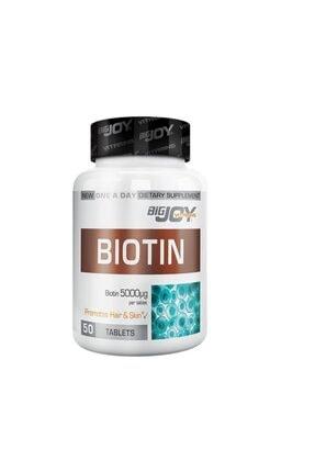Big Joy Bigjoy Vitamins Biotin 5000 Mcg 50 Tablet 0