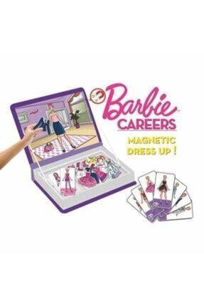 Diytoy Barbie Careers Manyetik Kıyafet Giydirme Oyunu Meslekler 1
