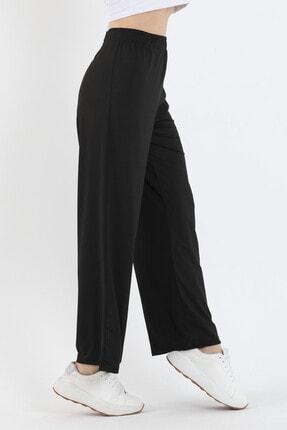 Twenty3 Kadın Siyah Bol Paça Pantolon 1