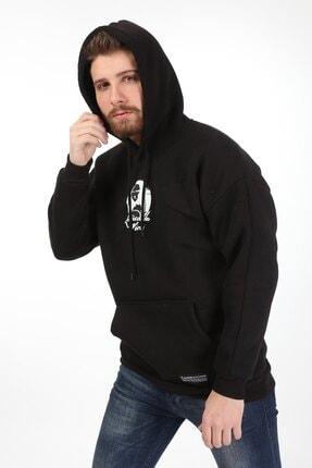 Millionaire Baskılı Erkek Sweatshirt 1