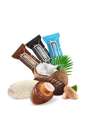 DATESnCHOCO Sütlü + Hindistan Cevizi ve Beyaz Çikolata + Bitter Çikolata Kaplı Hurma 2