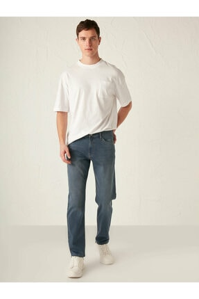LC Waikiki Erkek Mavi Casual Jean 2