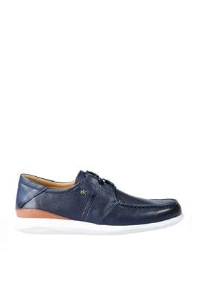 Erkek Deri Comfort Ayakkabı Lacivert 103002 Z103002DRF