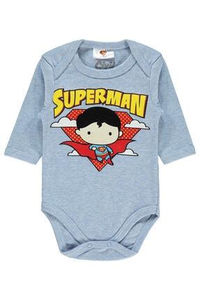 Superman Erkek Bebek Çıtçıtlı Badi 0