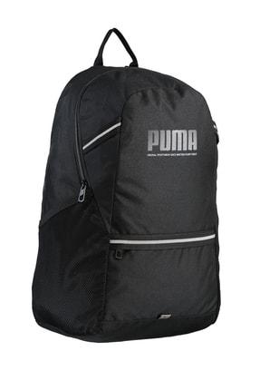 Puma PLUS BACKPACK PUMA B Siyah Erkek Sırt Çantası 101085608 1