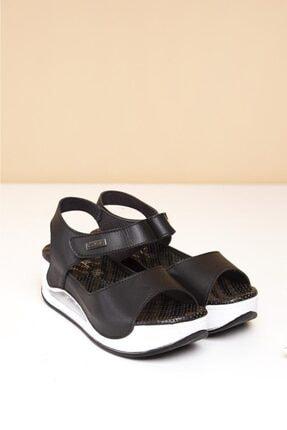 Pierre Cardin Havalı Masaj Taban Topuklu Sandalet 0