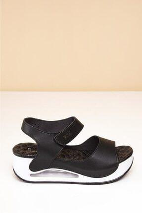Pierre Cardin Havalı Masaj Taban Topuklu Sandalet 2