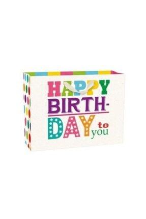 Legami Büyük Boy Karton Poşet Happy Bırthday Color 0