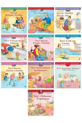 İş Bankası Kültür Yayınları Okul Öncesi Ilk Kitabım Incinin Maceraları Seti 10 Kitap 0