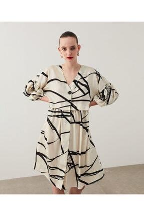 İpekyol Trapez Elbise 3