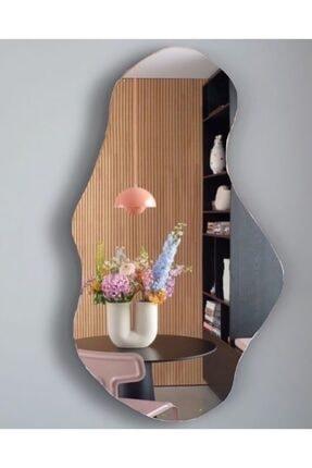 FNC CONCEPT Dekoratif Asimetrik Duvar Aynası 45x80cm 0