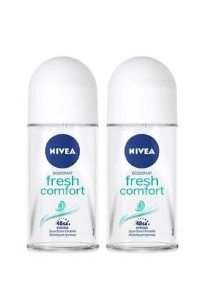 Nivea Fresh Comfort Kadın Deodorant Roll-on 50 ml 2'li 0