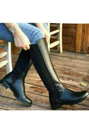 moss moda Kadın Uzun Çizme 2