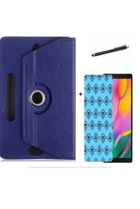 """Mobilite Vorcom S8 Pro 8"""" Uyumlu 3 Lü Set Universal Tablet Kılıfı Nano Ekran Koruma Ve Kalem 0"""
