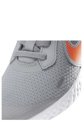Nike Unisex Çocuk Gri Yürüyüş Koşu Ayakkabı Bq5672-007 Revolutıon 5 Psv 4